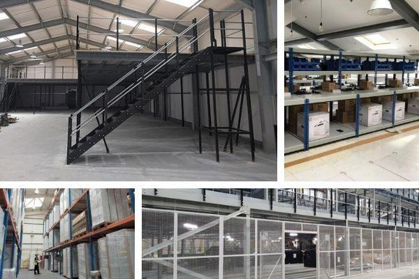 Display of Warehouse Storage Solutions